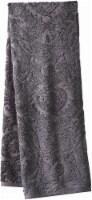 Modavari Home Fashions Jacquard Bath Towel - Gray - Bath Towel
