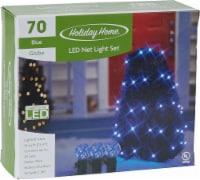 Holiday Home® 70 LED Net Lights - Blue