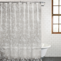 Everyday Living Spring PEVA Shower Curtain - White