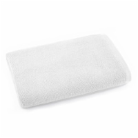 Dip Solid Bath Towel - White