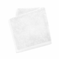 Dip Solid Color Wash Cloth - White