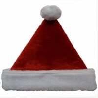 Holiday Home® Plush Santa Hat - Red