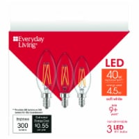 Everyday Living® 4.5-Watt (40-Watt) B11 LED Light Bulbs