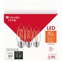 Everyday Living® 3.3-Watt(40-Watt) B11 Blunt Tip Bulbs