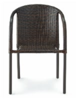 HD Designs Outdoors Wicker Chair - Brown