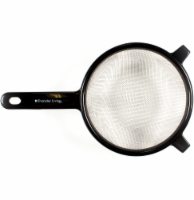 Everyday Living Stainless Steel Strainer - Black