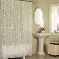 Everyday Living Ivy Shower Curtain - Silver