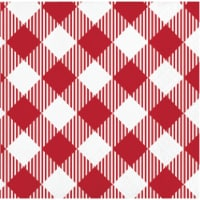 HD Designs Outdoors Hello Summer Beverage Napkins - Red/White