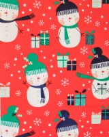 Holiday Home® Sweet Snowman Gift Wrap