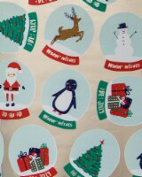 Holiday Home® Snowglobes Gift Wrap
