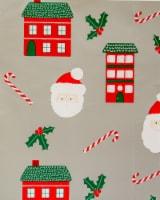 Holiday Home® Santa Houses Gift Wrap