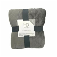 HD Designs® Etched Blanket - Gray