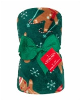 Holiday Home® Gingerbread Throws - Green