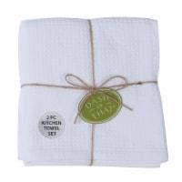 Dash of That™ Cotton Kitchen Towels - White