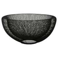 Dip™ Metal Double Mesh Bowl - Black