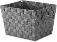 Everyday Living® Woven Storage Tote - Small - Gray