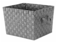Everyday Living® Woven Storage Tote - Large - Gray