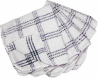 Everyday Living Scouring Dish Cloths - White/Blue