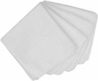 Everyday Living Honeycomb Microfiber Bar Cloths - White
