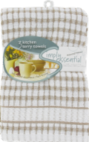 Everyday Living®  Woven Kitchen Towel - Biscotti
