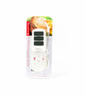 Everyday Living® Digital Meat Thermometer with Probe - White
