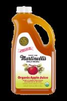 Martinelli's 100% Pure Organic Apple Juice - 1/2 gal