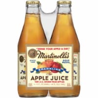 Martinelli's Gold Medal Sparkling Apple Juice 4 Bottles