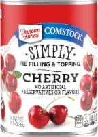 Comstock Simply Cherry Pie Filling & Topping