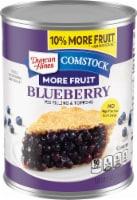 Comstock Blueberry Fruit Filling - 21 oz