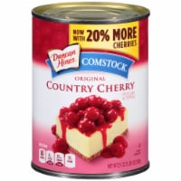 Duncan Hines Comstock Original Cherry Pie Filling & Topping - 21 oz