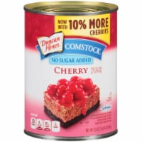 Duncan Hines Comstock No Sugar Added Cherry Pie Filling & Topping
