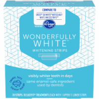 Kroger® Wonderfully White Whitening Strips