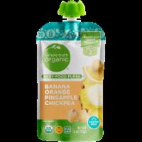 Simple Truth Organic™ Banana Orange Pineapple Chickpea Stage 2 Baby Food Puree