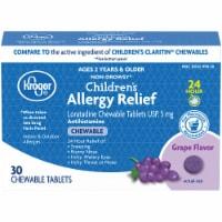 Kroger® Children's Allergy Grape Chewable Tablets