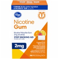 Kroger® Coated Fruit Wave Nicotine Gum 2mg
