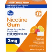 Kroger® Fruit Flavored Nicotine Gum 2mg