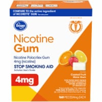 Kroger® Fruit Flavored Nicotine Gum 4mg