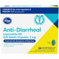 Kroger® Anti-Diarrheal Loperamide Soft Gelatin Capsules