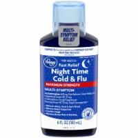 Kroger® Fast Relief Maximum Strength Night Time Cold & Flu Liquid