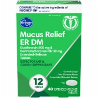 Kroger® Mucus Relief ER DM Expectorant & Cough Tablets