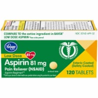 Kroger® Adult Low Dose Coated Aspirin Tablets 81mg