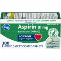 Kroger® Low Dose Aspirin Enteric Safety Coated Tablets 81mg