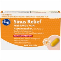 Kroger® Maximum Strength Sinus Relief Pressure & Pain Acetaminophen