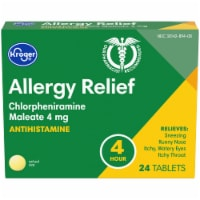 Kroger® 4 Hour Allergy Relief Tablets Box