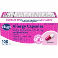 Kroger® Allergy Antihistamine Capsules Box