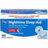 Kroger® Nighttime Sleep Aid Mini-Caplets