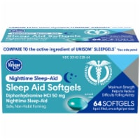 Kroger® Nighttime Sleep-Aid Softgels