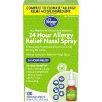 Kroger® 24 Hour Allergy Relief Nasal Spray Bottle