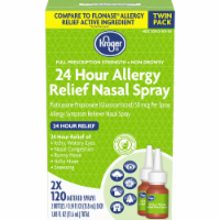 Kroger® 24 Hour Allergy Relief Nasal Spray 2-0.54 fl oz Bottles