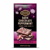 Private Selection™ Dark Chocolate Peppermint Candy Cane Bark